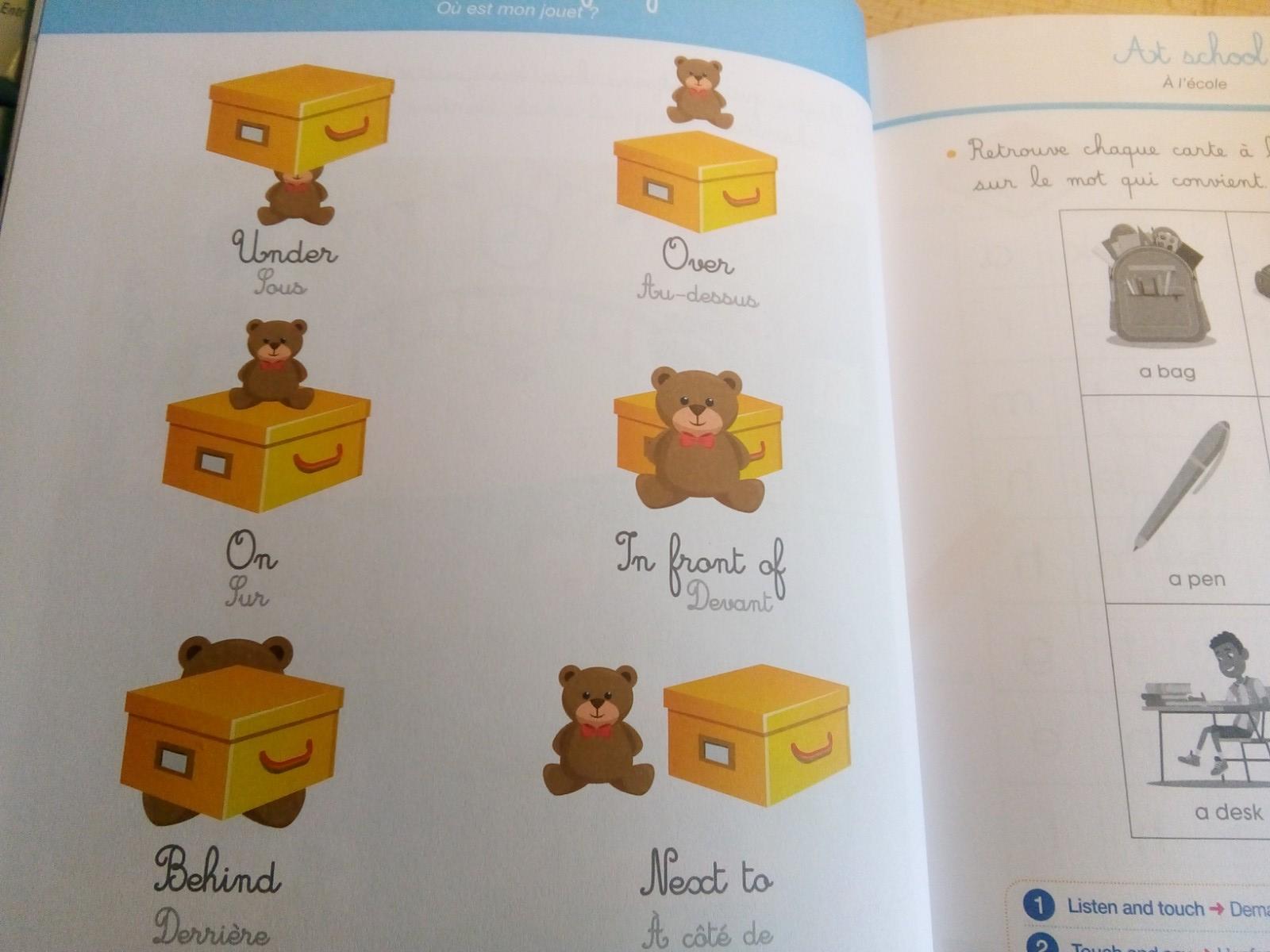 Un cahier d'activités inspirées par la pédagogie Montessori pour apprendre  l'anglais - Apprendre, réviser, mémoriser