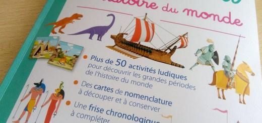 cahier activités histoire montessori