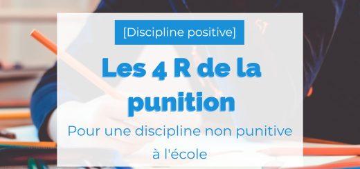 discipline non punitive à l'école
