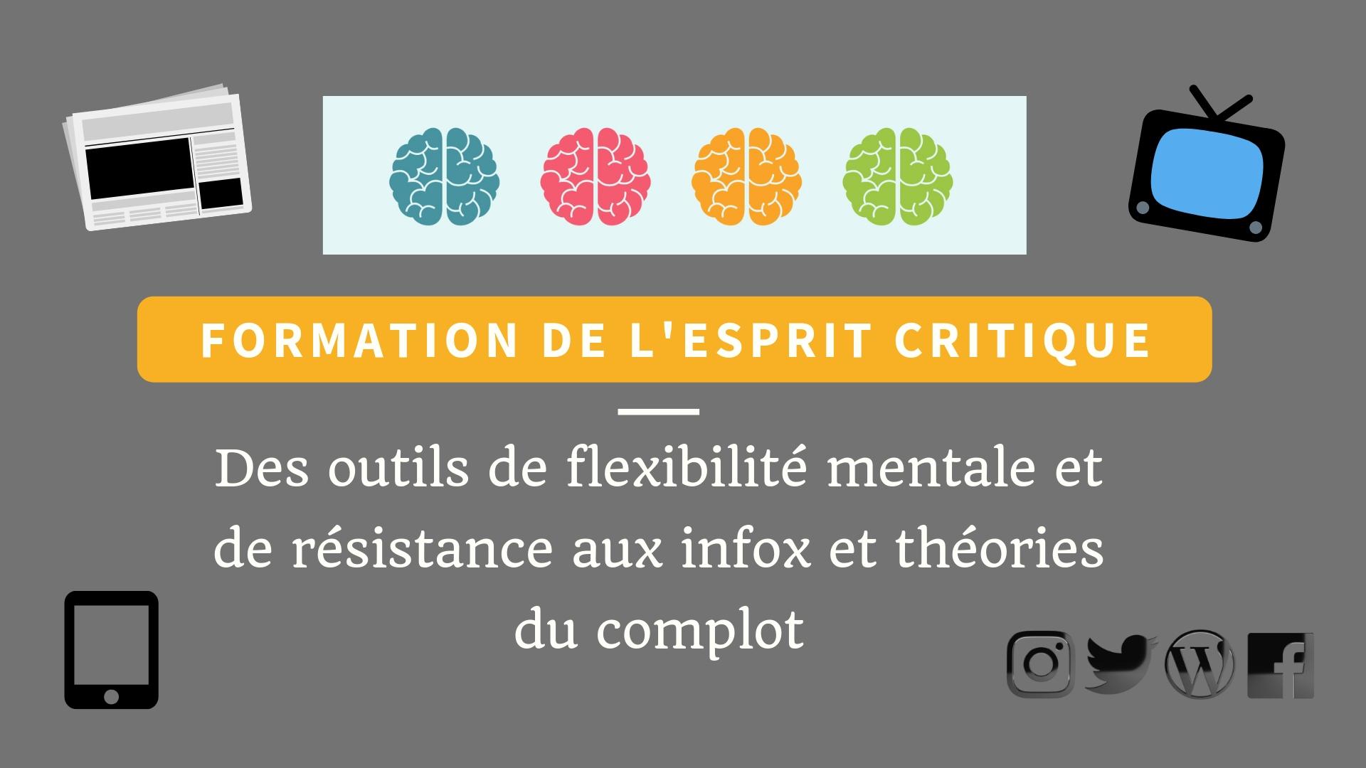 formation de l'esprit critique