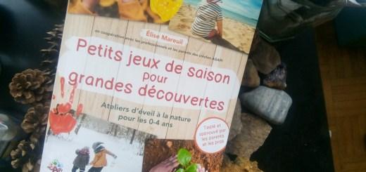 livre jeux saison nature enfants