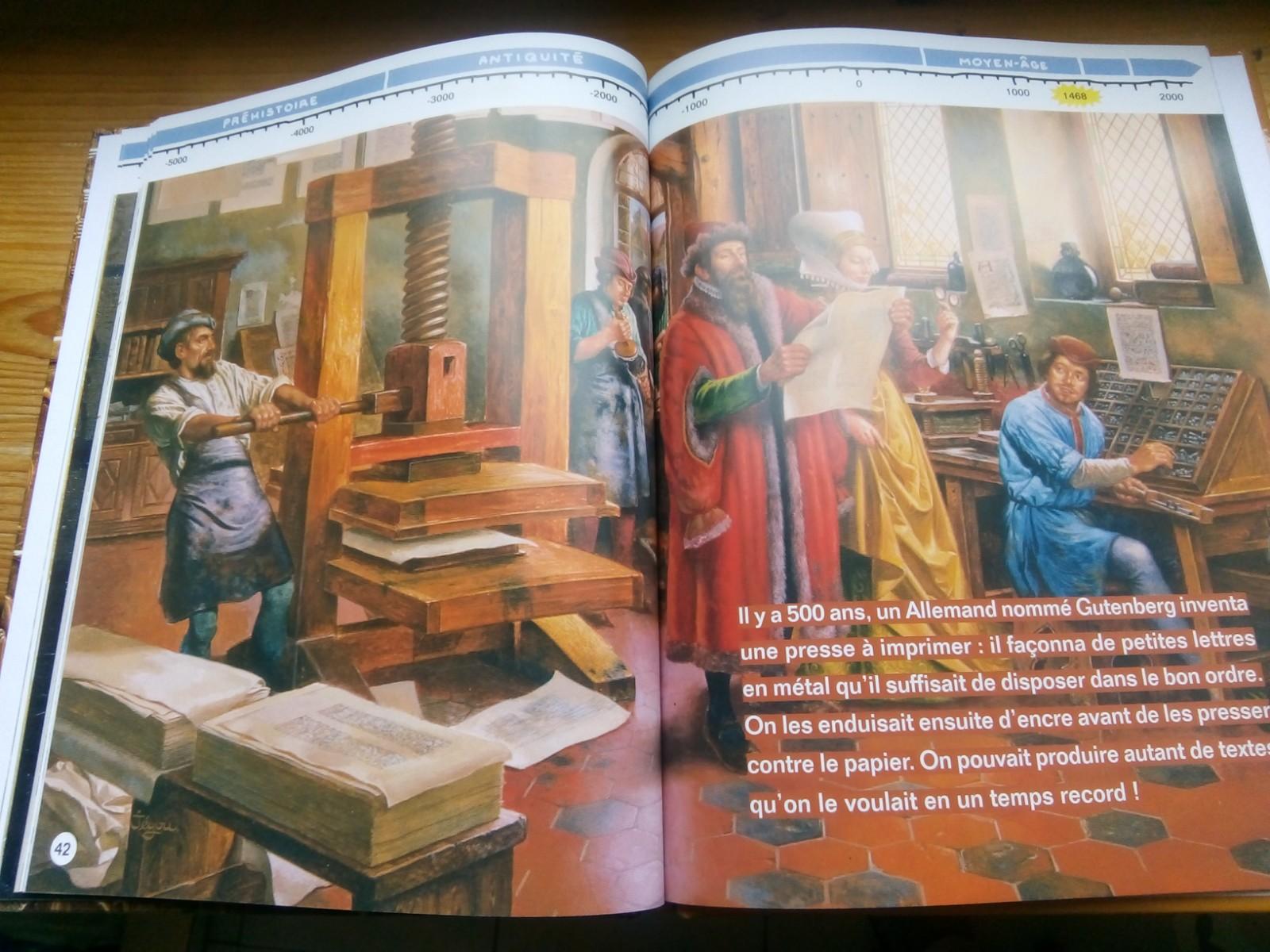 grand récit montessori histoire de l'écriture