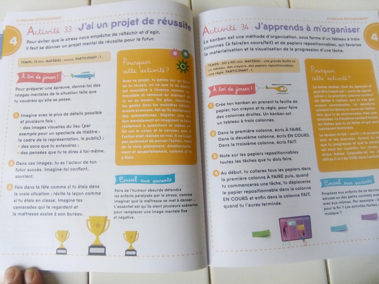 livre activités bienveillantes anti stress enfants