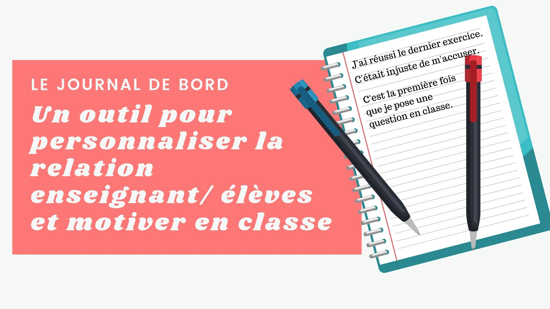 journal de bord classe