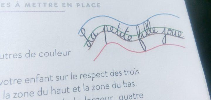 exercice lignes et proportions des lettres écriture