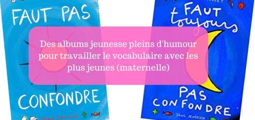livre vocabulaire maternelle