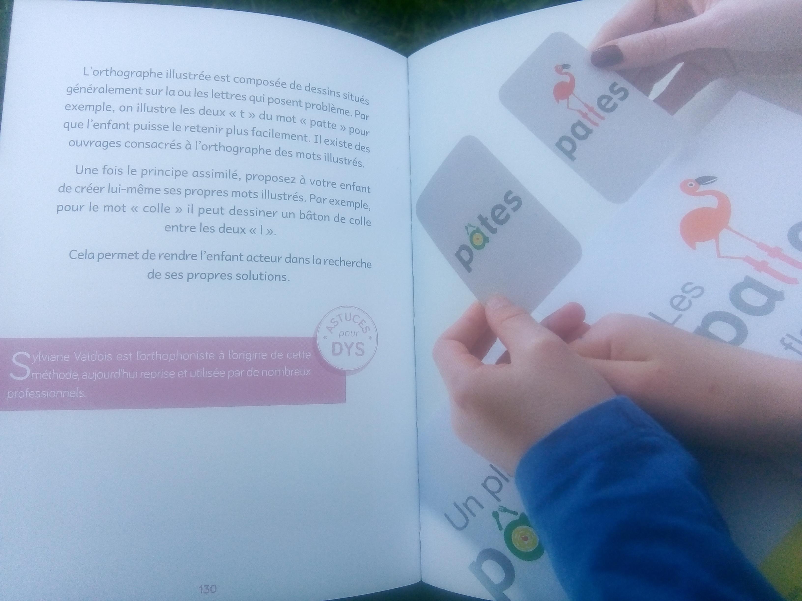 livre activités pour les enfants dys