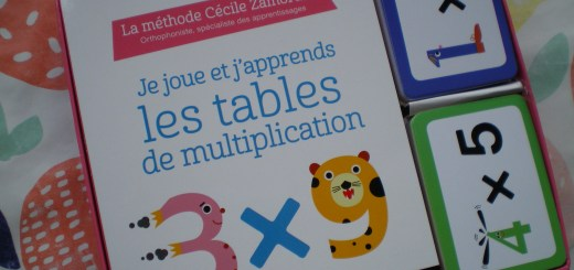 carte apprendre tables de multiplication