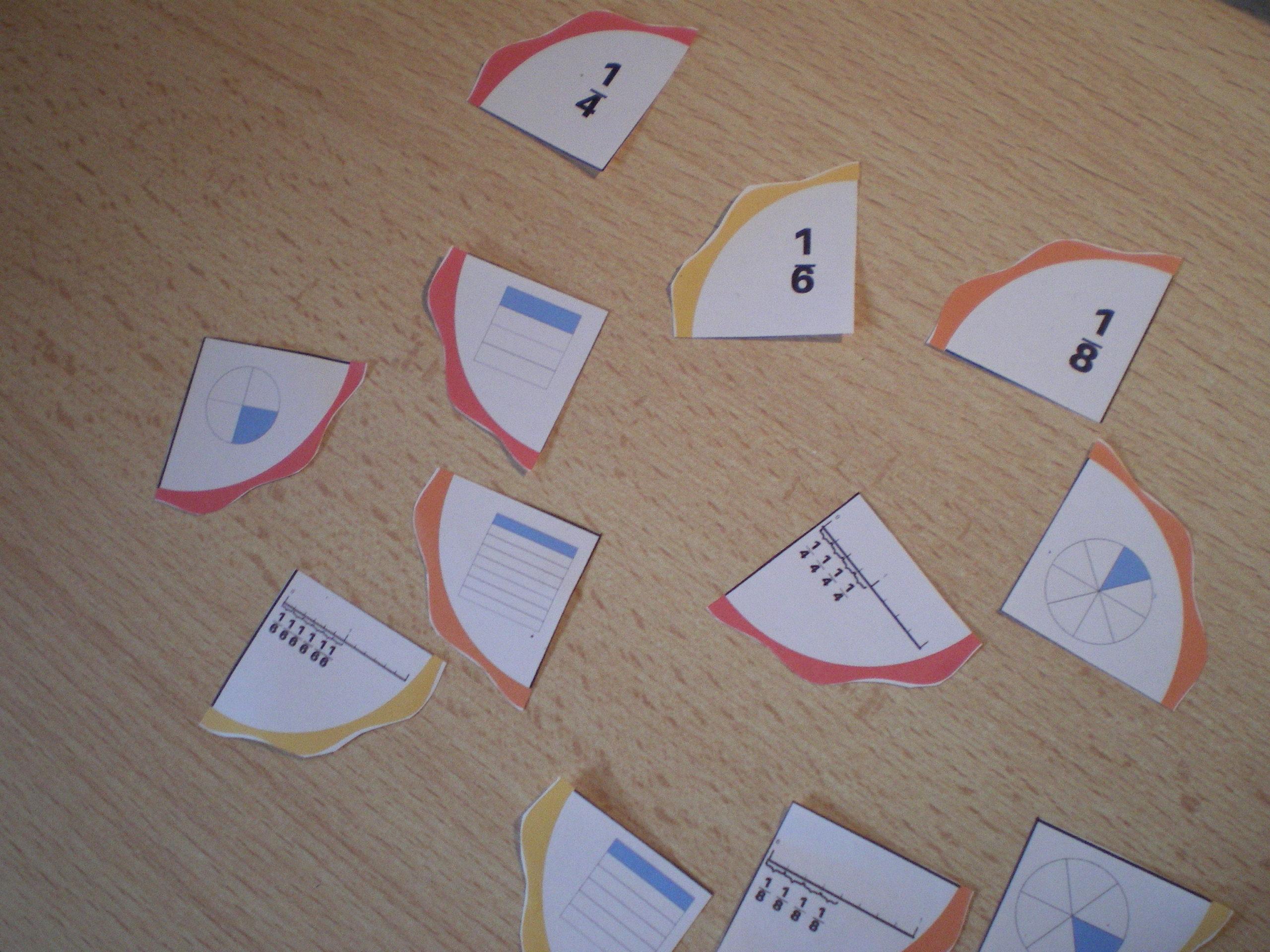 activité découverte des fractions