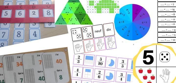 jeux pédagogiques en mathématiques classés du CP au CM2