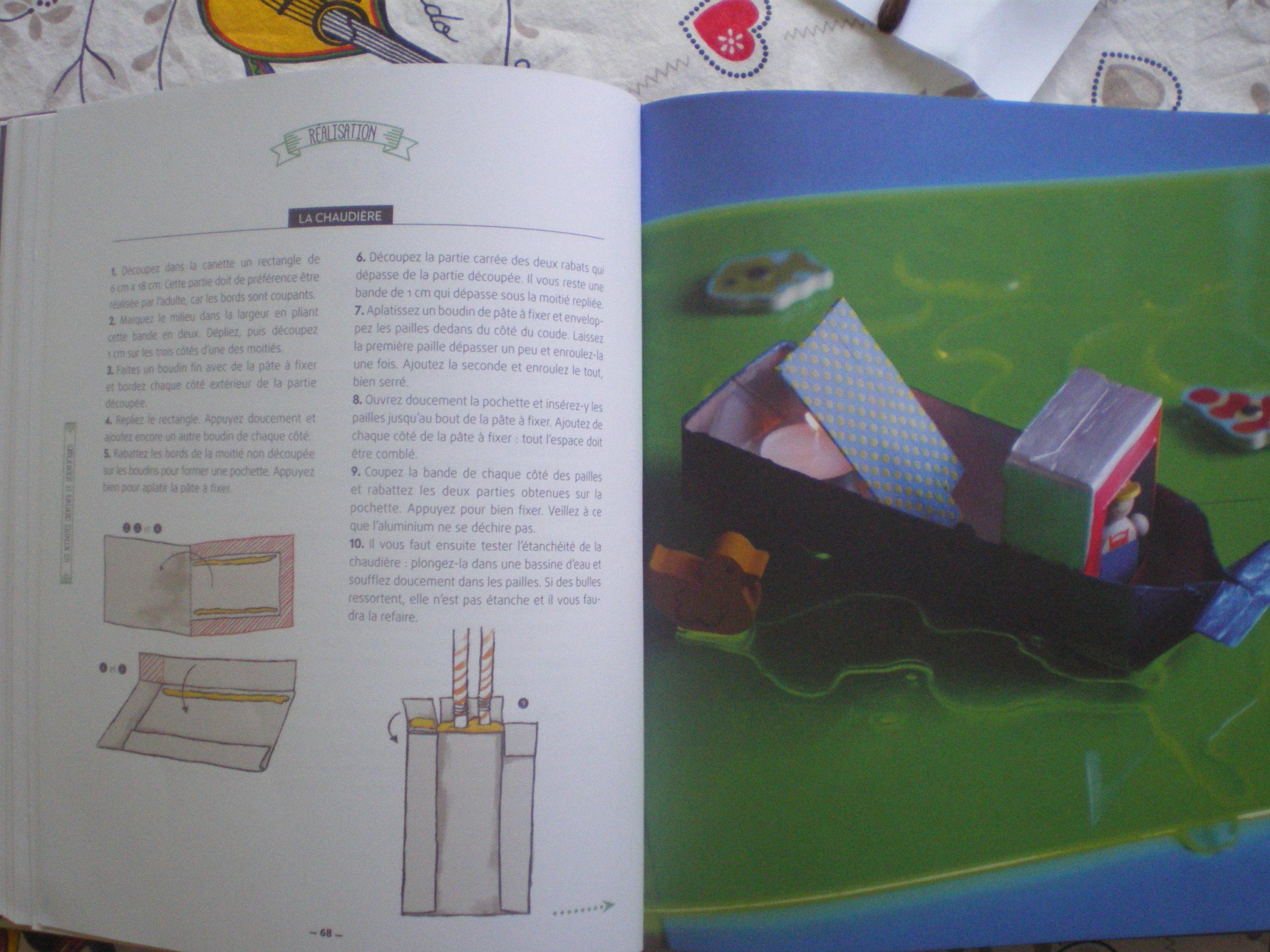 livre idées activités créatives enfants