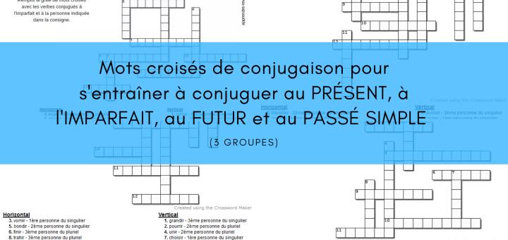 mots-croises-de-conjugaison 3 groupes