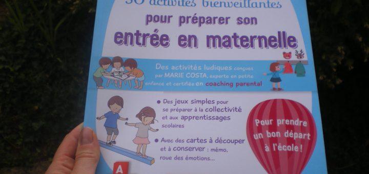 activités bienveillantes préparer entrée maternelle