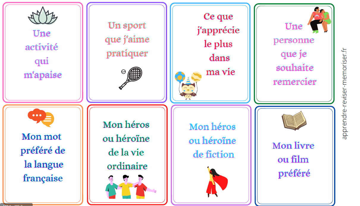 carte positive enfants