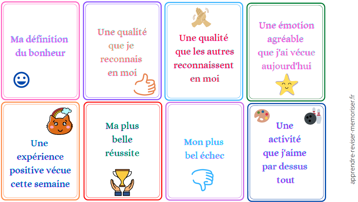 cartes positives enfants