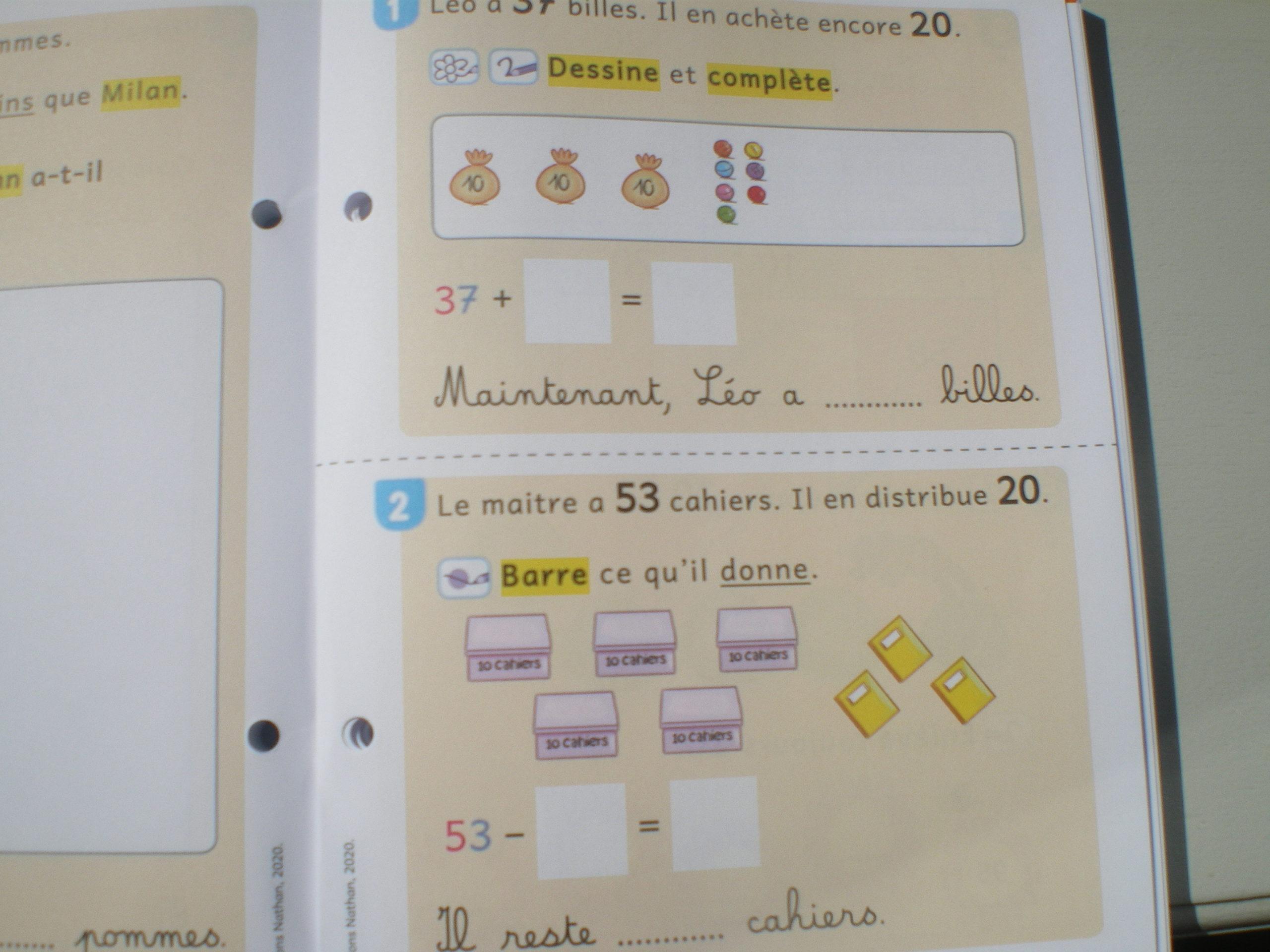 Vivre Les Maths Ce1 Pour Les Eleves Dys Un Fichier D Exercices Specialement Concu Pour Les Les Eleves Dys Apprendre Reviser Memoriser