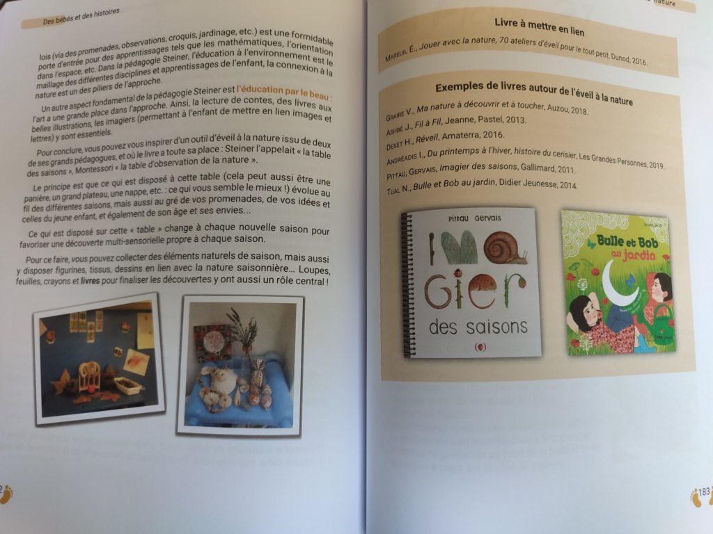 livres pour les bébés