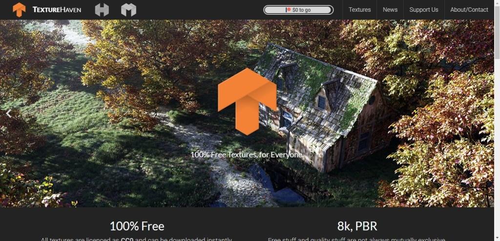 Texture Haven: téléchargez des textures gratuites