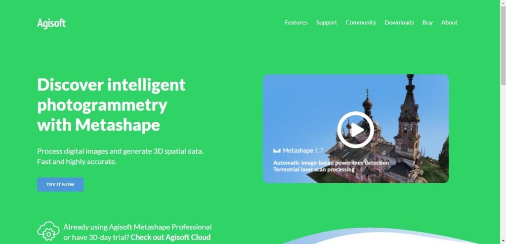 Agisoft Metashape - Appli 3D de photogrammétrie