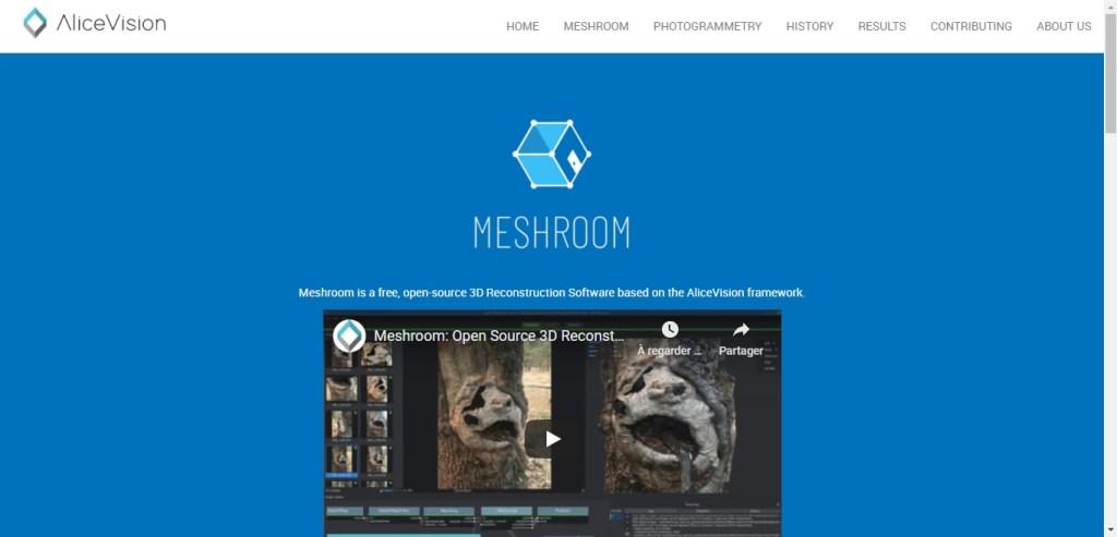 Meshroom - Appli 3D de photogrammétrie