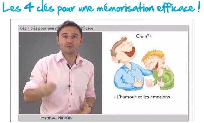 clé 4 pour une mémorisation efficace par association d'images mentales