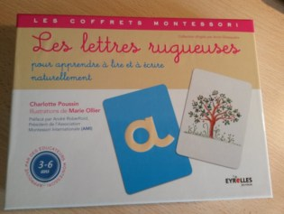 lettres rugueusesMontessori