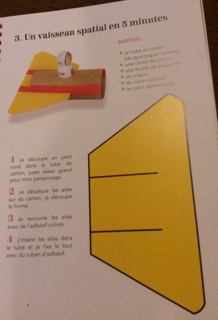 créations en carton enfants
