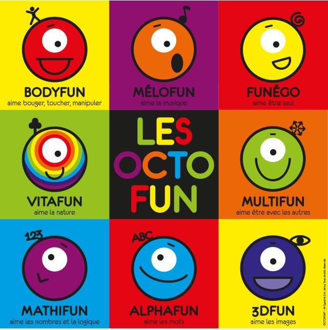 octofuns intelligences multiples