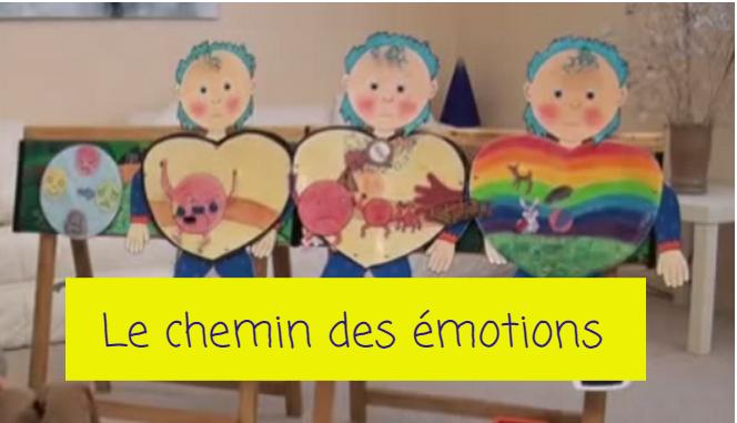 chemin des émotions enfants