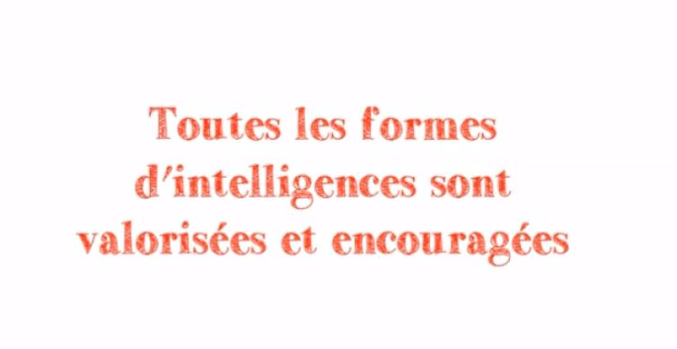 formes d'intelligence