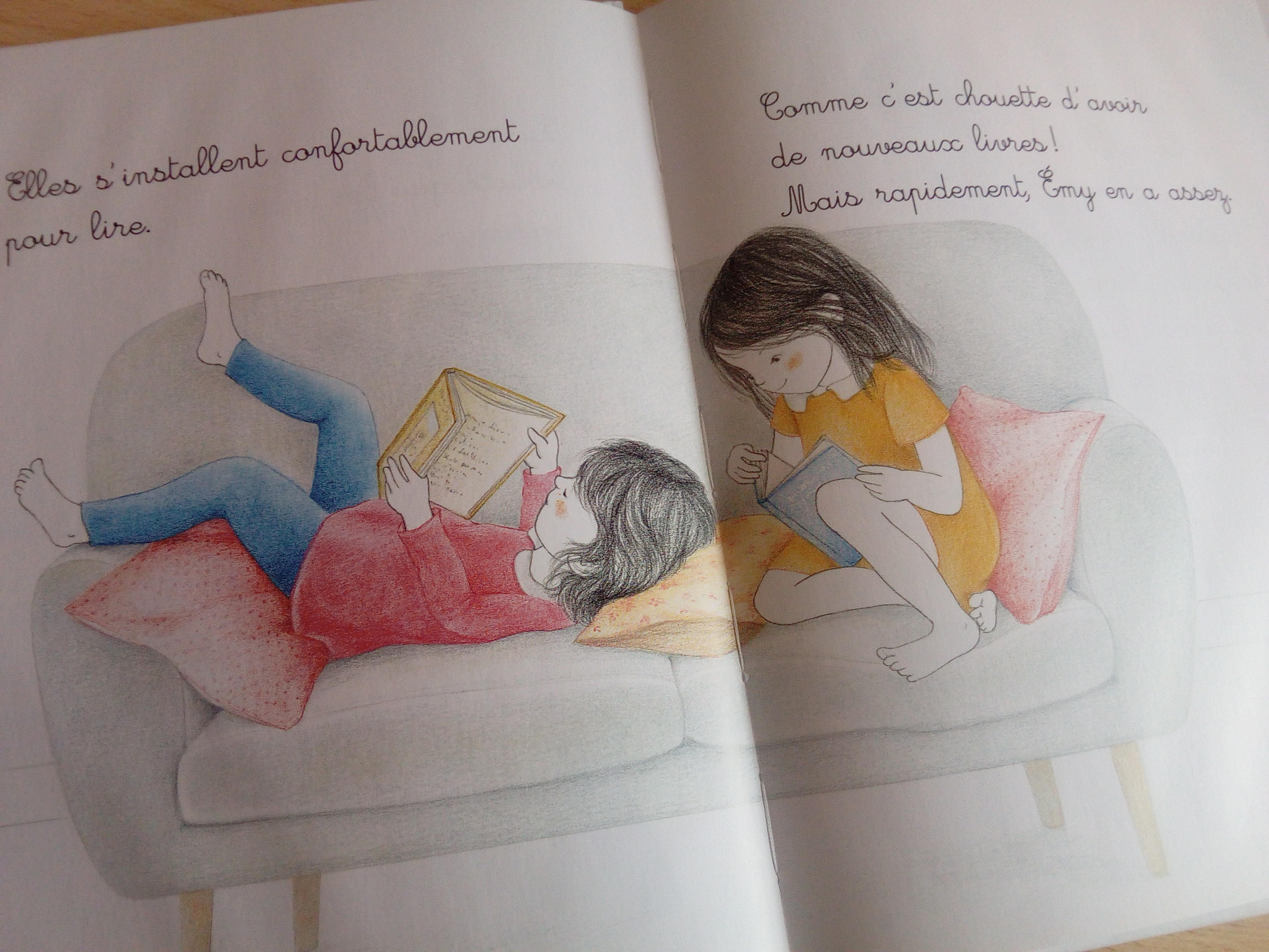 Emy Ne Veut Pas Lire Un Livre Pour Les Enfants Qui N
