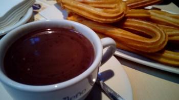 chocolat et churros