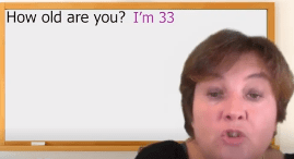 Quel âge avez-vous en anglais