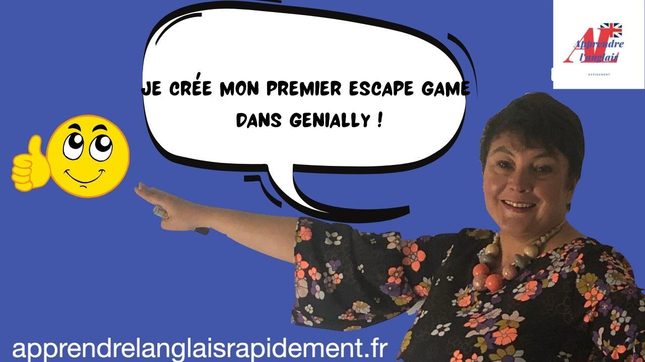 Escape Game genially