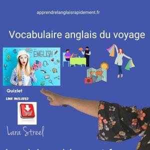 Vocabulaire anglais du voyage