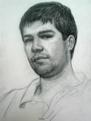 Paul 36x45 dessin au crayon