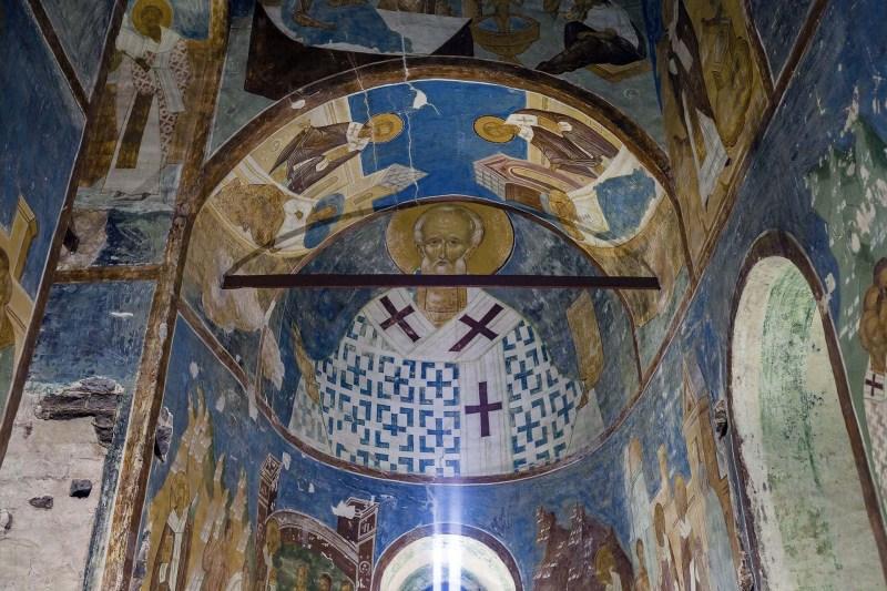 Fresques du monastère Ferapontov. Peintre Dionisius et ses fils.
