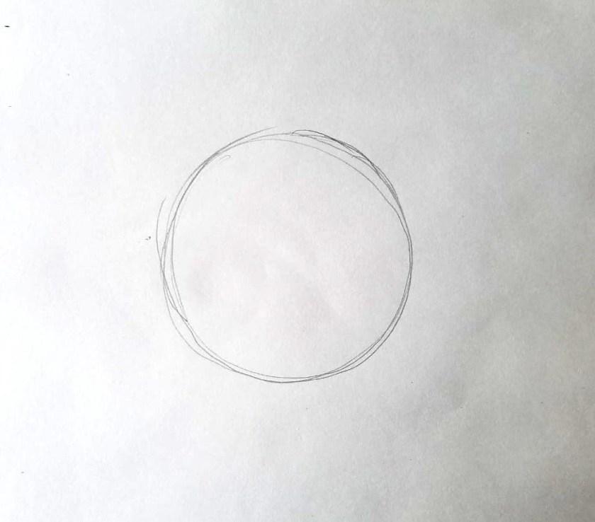 Comment dessiner des yeux. Globe oculaire.