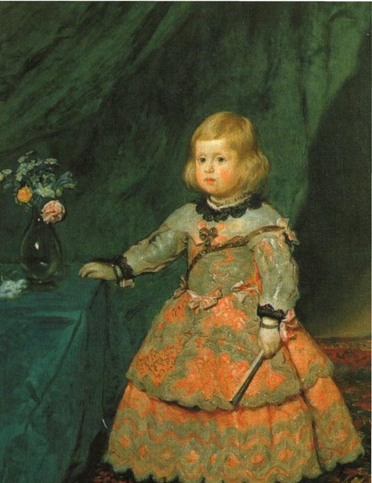 Portrait de l'Infante Marguerite.(1653)