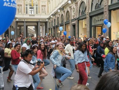 Européens changent et dansent K-pop