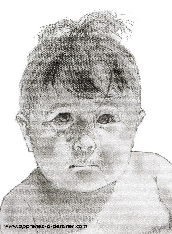 Apprenez A Dessiner Une Tete De Bebe Apprenez A Dessiner Com