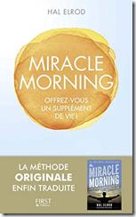 """Couverture du livre """"Miracle Morning"""""""
