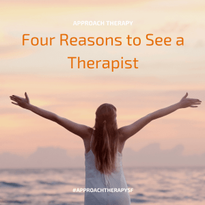 Reasons to See a Therapist