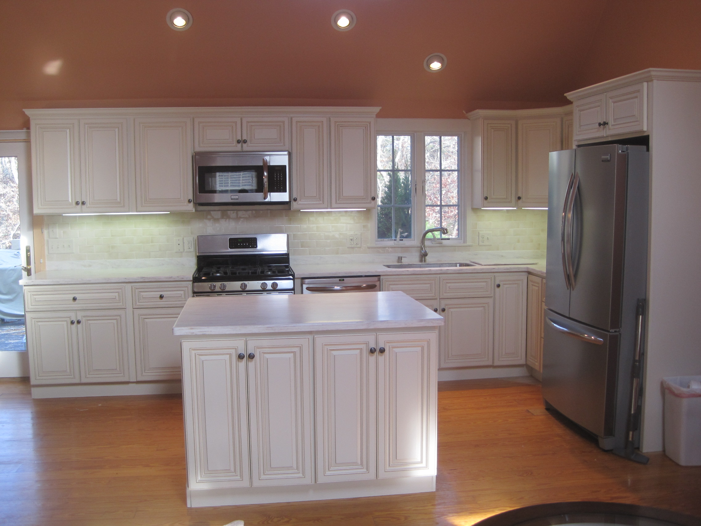 Kitchen Finished JSI Wheaton Cabinets  Home Improvement Blog