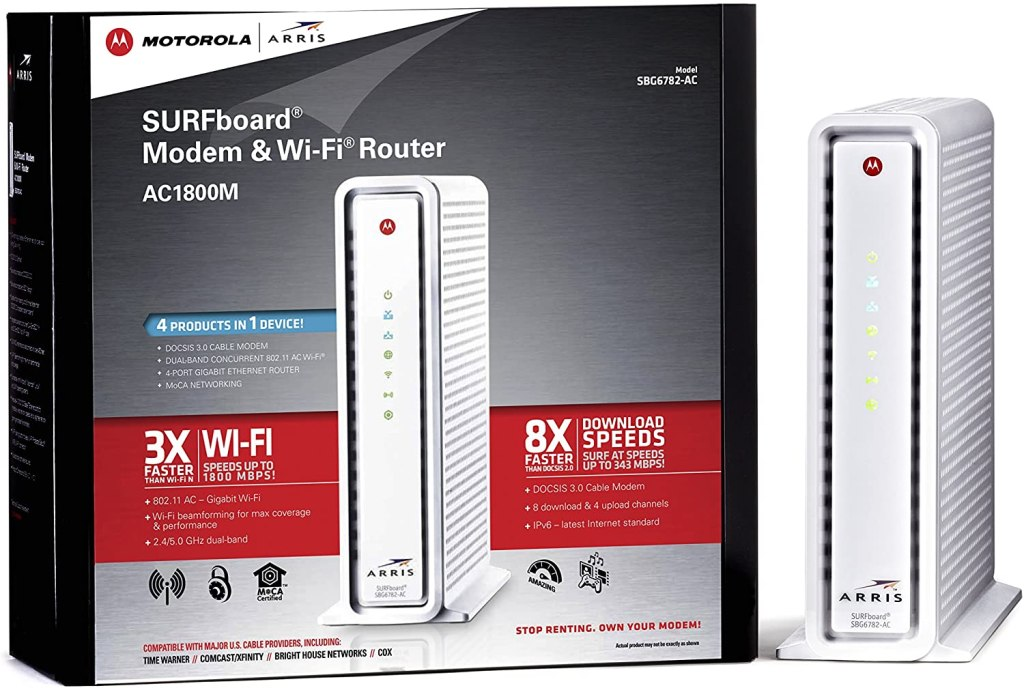 ARRIS SURFboard SBG6782AC WiFi Cable Modem
