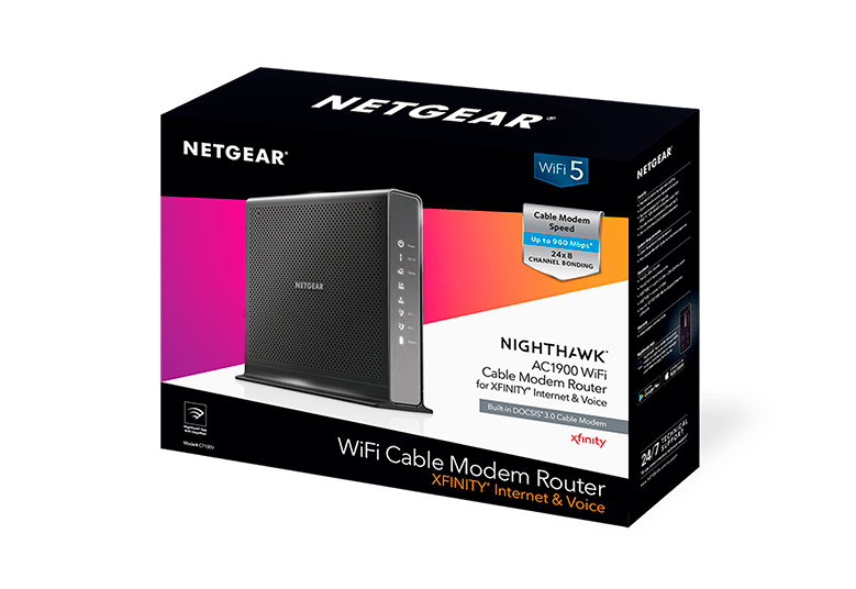 NETGEAR Nighthawk C7100V Voice Modem For XFINITY