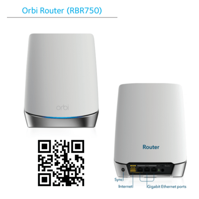 RBR750 Orbi Mesh Router Only