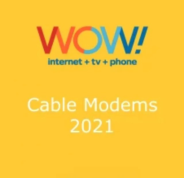 Wow Cable Modems Poster