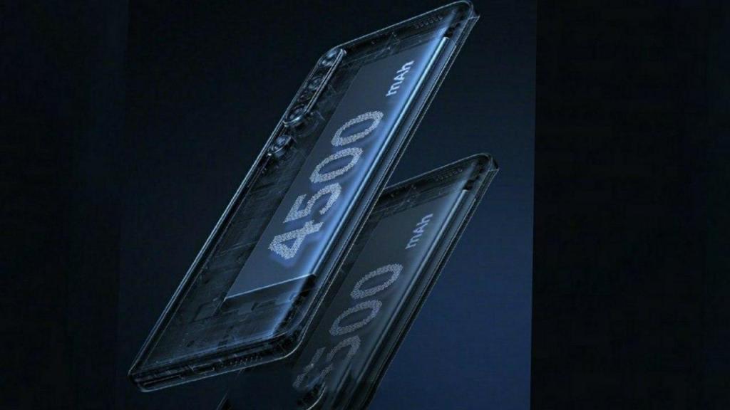 يعرض Xiaomi Mi 10 صورة الملصق الترويجي  المؤكد أن لديه بطارية تبلغ 4500
