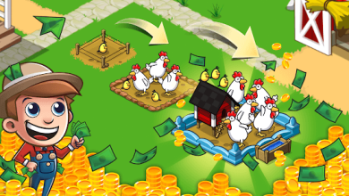 تحميل لعبة المزرعة Idle Farming Empire Mod نسخة مهكرة للاندرويد